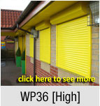 WP36 - Double Skinned Extruded Aluminium [High Security]