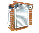 Warm Protection Products Limited - WP32 Foam Filled Aluminium Shutter | Low Security Portfolio