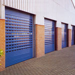 Warm Protection Products Limited - WP77 Punched - Double Skinned Aluminium Shutter | High Security Portfolio